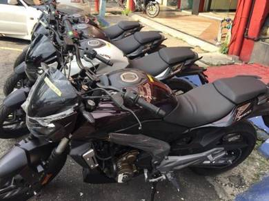 Modenas Dominar D400 baru, wasap shj.last offer