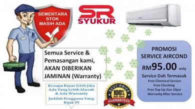 PROMOSI SERVICE AIRCOND - Kuala Lumpur & Selangor
