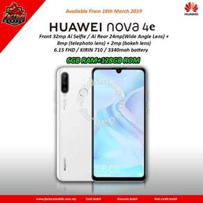 New Huawei Nova 4 E [ 6+128GB ] Msia set