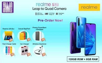 RealMe 5 Pro [128GB ROM/8GB RAM] Pre-Order