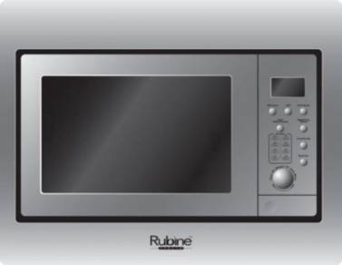 Rubine Built In Microwave Mmw-bigbella-28ss