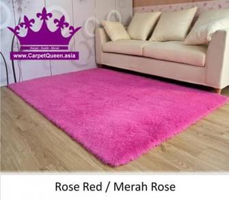 Karpet Shaggy Berkualiti - Harga Borong