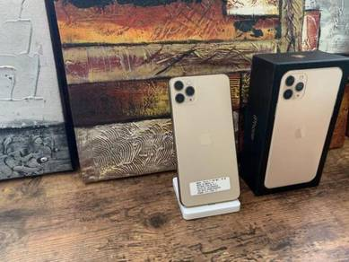 Iphone 11 pro max 64gb gold official