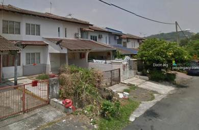 2 storey house , jalan bunga raya , balakong , near belimbing