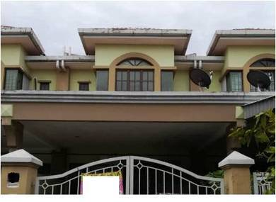 Freehold🔥🔥🔥 Double Storey Perdana College Height