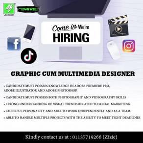 Graphic Cum Multimedia Designer