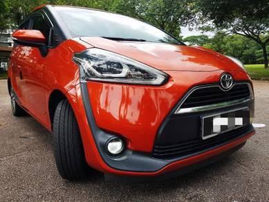 2017 Toyota SIENTA 1.5 V (A)