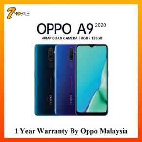 OPPO A9 2020 [128GB+8GB] Original OPPO M'sia Set