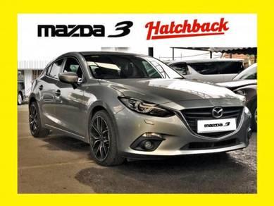HATCHBACK *TRUE YEAR* 2015 Mazda 3 2.0 SKYACTIV