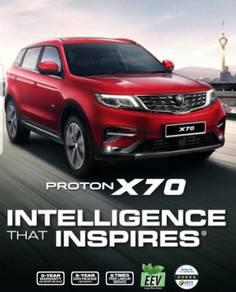 2019 Proton X70 1.8 Extra Benefits
