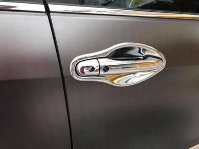 Mitsubishi asx chrome door handle cover bowl
