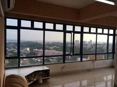 Aster court apartment at johor bahru corner unit high loan