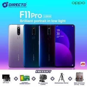 OPPO F11 PRO (6GB/128GB/4000 BATT)+ 5 Hadiah