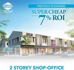 Super Cheap 2-storey Shop Lot in Rawang