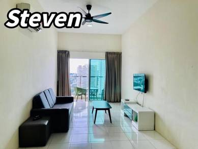[ 2 Car Parks ] Straits Garden Residence Fully Furnished Nice Seaview