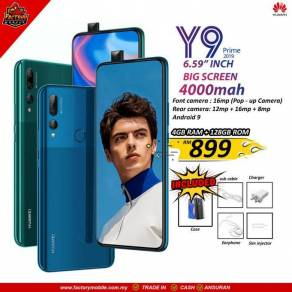Huawei y9 prime [4 128GB] Msia Set Gift