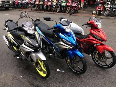 Yamaha 135 LC (free wasap Apply) Senang Lulus