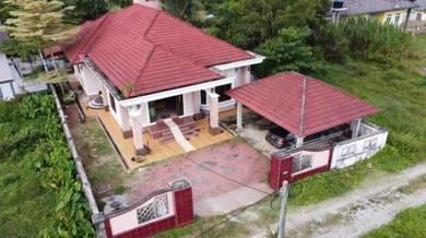 Rumah Banglo Besar & Menarik Di Pekan Gunong, Bachok, Kelantan
