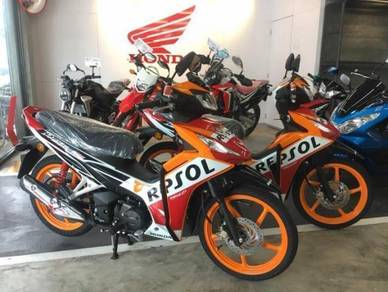 Honda dash 125 repsol 2 disc (0% sst) whatsaap
