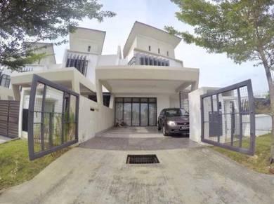 [ CORNER LOT 5,027 SQFT ] Terrace House Laman Glenmarie TTDI Shah Alam