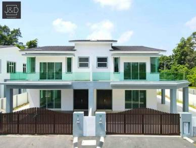 Luxury 2 Storey Semi-D 35'x80' in Taman sinfar, Pasir puteh