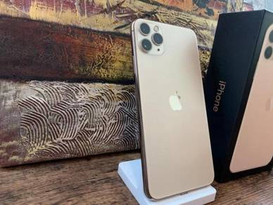 Iphone 11 pro max 256gb my gold official