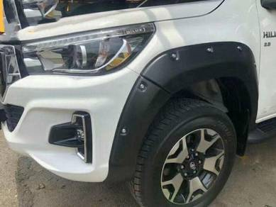 Toyota Hilux Rocco Fender Flare