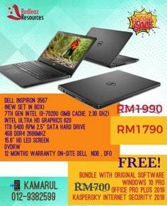 Dell Inspiron 3567 With 3 Free Original Software