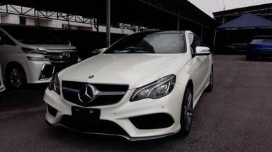 2015 Mercedes Benz E250 AMG 2.0 COUPE LIKE NEW