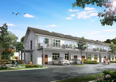 2 Storey Terrace House- FREEHOLD (CNY rebate RM6,888)