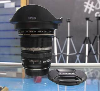 CANON EF-S 10-22MM F/3.5-4.5 USM LENS - LiKE NEW
