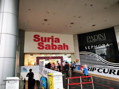 Suria Sabah Shopping Mall   2nd Floor   2 adjoin lot   Tenanted