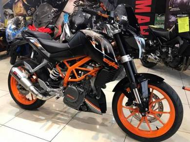 KTM Duke 250 ABS ( KTM Full Accesories Exhaust )