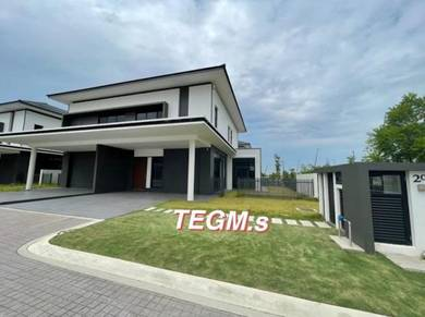 NEW !! [42*70] 2 STY End Lot GardenHome Semi D Eco Ardence   Dremien