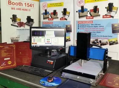 Hardcover Thesis Stamping Machine hc 250