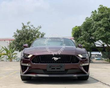 2018 Ford MUSTANG 5.0 GT (A) NF ROYAL CRIMSON