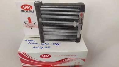 N/ Livina, latio, sylphy cooling coil siap pasang