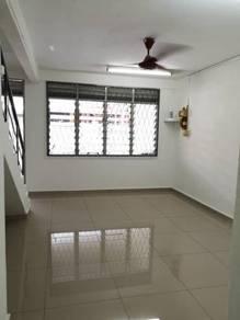 Johor jaya , jalan teratai , low cost house , renovated , full loan