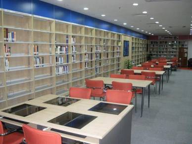 Library and disply cabinet 07