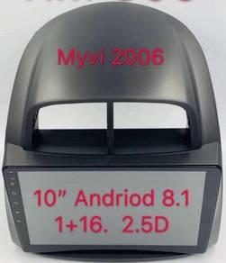 Perodua myvi 2006 10* oem Android car player