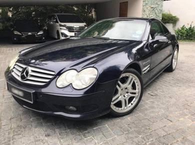 2004 Mercedes Benz SL55 AMG V8 cabrio sl slk cla