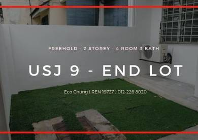 END LOT - 22x75 - FREEHOLD - Subang Taipan USJ 9 - Below Market Price