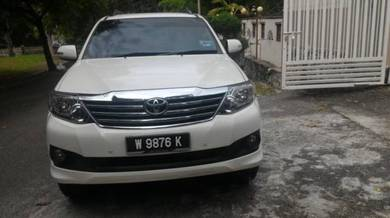 2013 Toyota Fortuner 2.7 (A) Fully Toyota Service