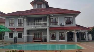 Luxurious fully-renovated 2-storey corner hse in d'kayangan shah alam