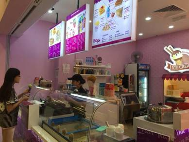 3 Food Kiosks / Cafe Outlets in Popular Malls