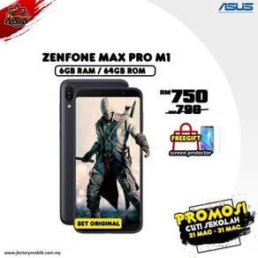 Promo> Asus Zenfone Max Pro M1 [6+64GB] Msia set