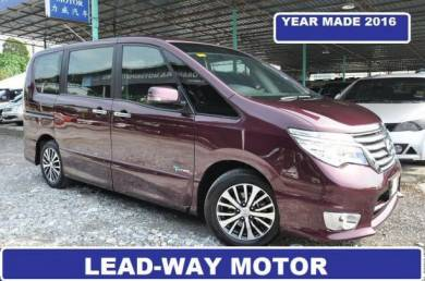 YEAR MADE 2016 Nissan SERENA 2.0 S-HYBRID ONE OWNE