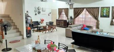 EXTENDED CORNER LOT   2 Storey Terrace Taman Sri Andalas Klang