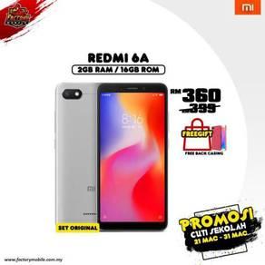 PROMO> New Xiaomi redmi 6A [ 2+16gb ] m'sia set
