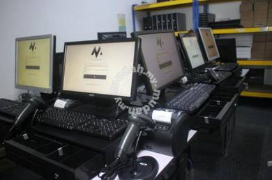 Mesin Cashier POS System Cash Register Borong 012